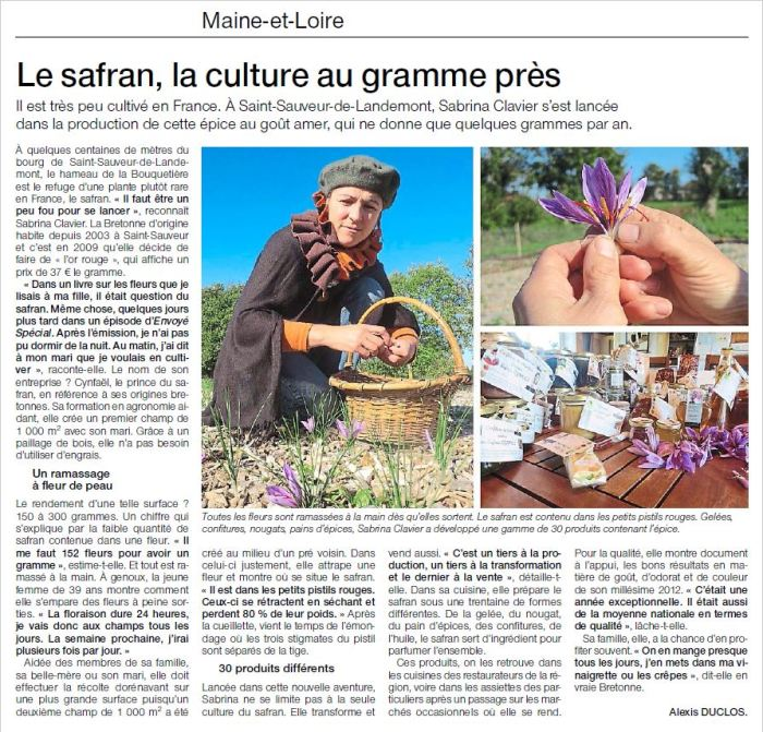 articleoouestfrance 18 oct 2015.JPG