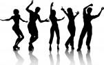 des-silhouettes-de-personnes-qui-dansent